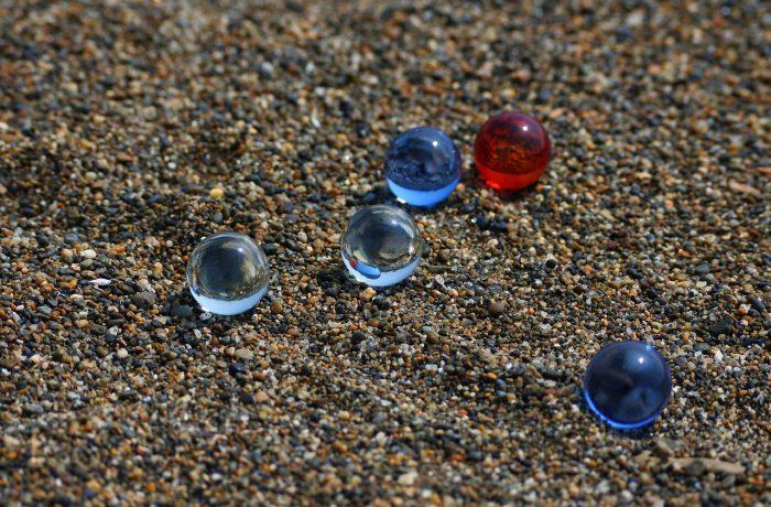 Sand- und Glasperlenstrahlen